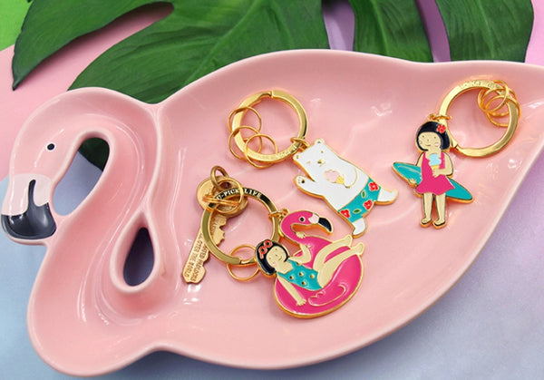 Summer Holiday Key Chain By U-Pick