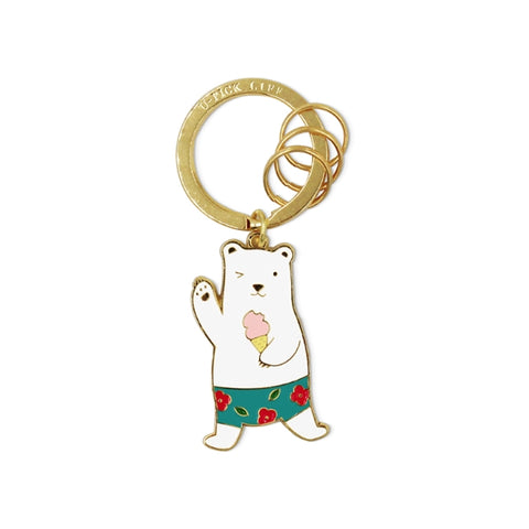 Summer Holiday [Summer Bear] Key Chain By U-Pick