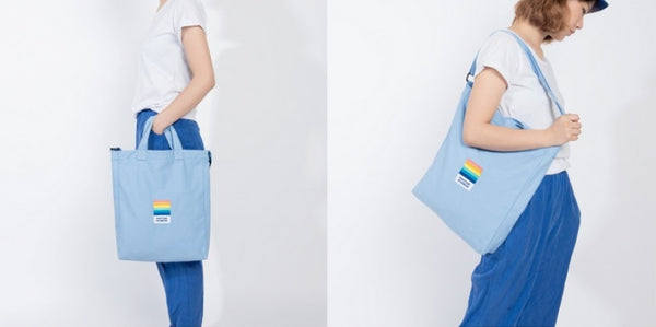Pantone Rainbow Summer Talk Crossbody Bag By Kiitos Life