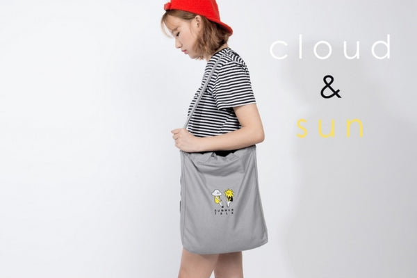 Cloud & Sun Summer Talk Crossbody Bag By Kiitos Life