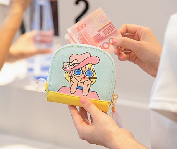 Sunglass Girl Half Moon Pouch By Bentoy