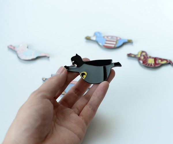 Fat Super Hero Magnet By HAMO