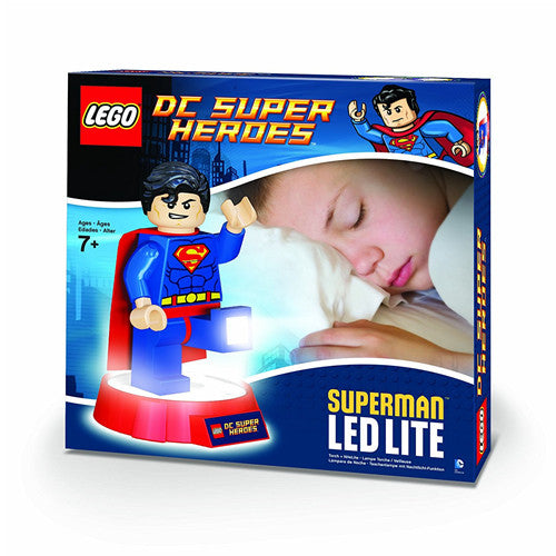 Lego DC Super Heroes Superman Touch + Nite Lite (Night Light)