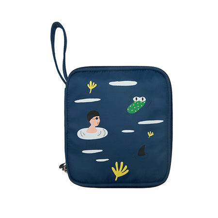 Ocean [Surprise] Cosmetic Pouch By YIZI STORE X KOMESHOP