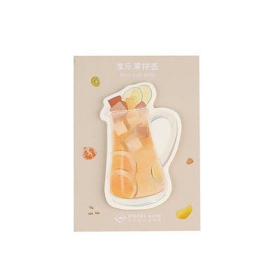 Sweet Drink Fruit Tea Sticky Notes