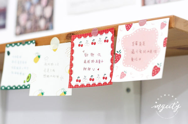 Sweet Fruit [Cherry] Notepad
