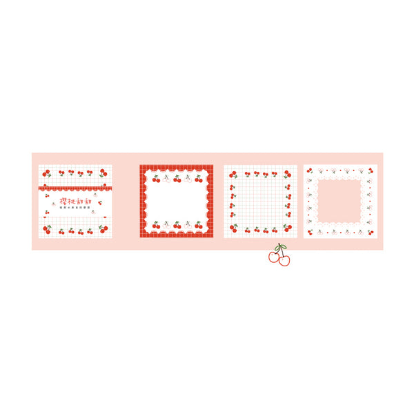 Sweet Fruit Cherry Notepad