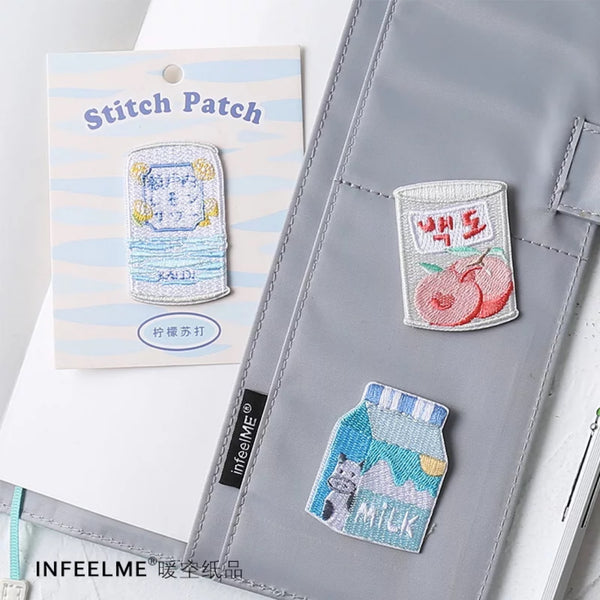 Sweet Sweet [Milk Box] Embroidered Sticker Patch
