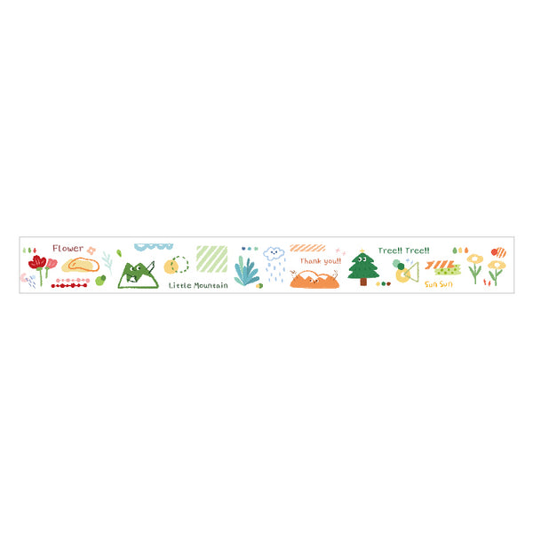 Sweet Time Mountain Water Washi Tape