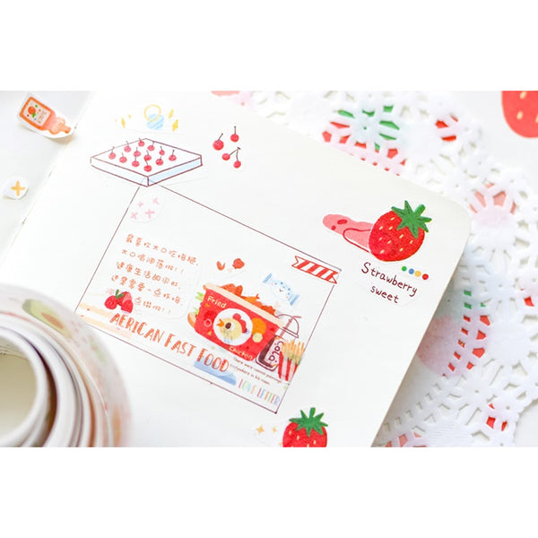 Sweet Time [Fruits] Washi Tape