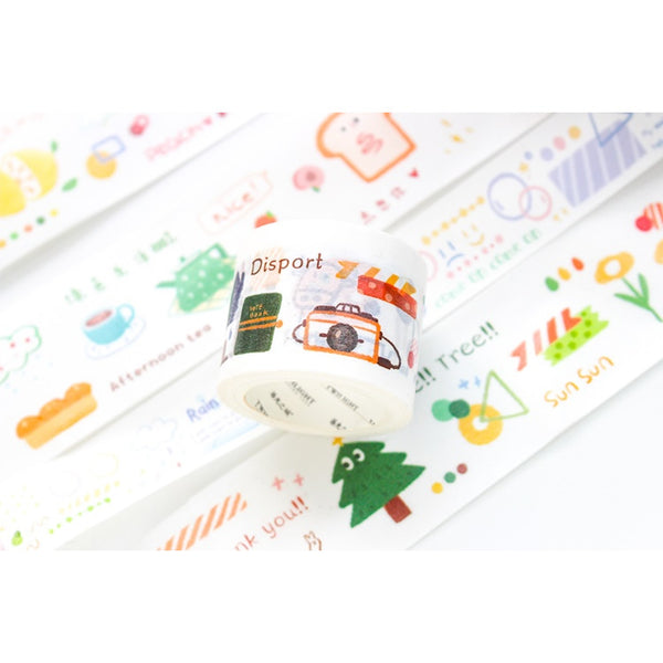 Sweet Time [Mountain Water] Washi Tape