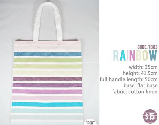 [Rainbow] Big Tote Bag