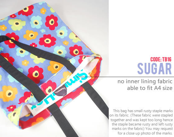 [Sugar] Big Tote Bag