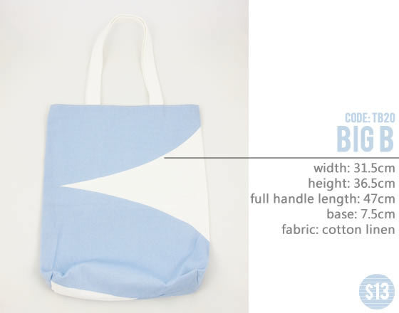 [Big B] Big Tote Bag