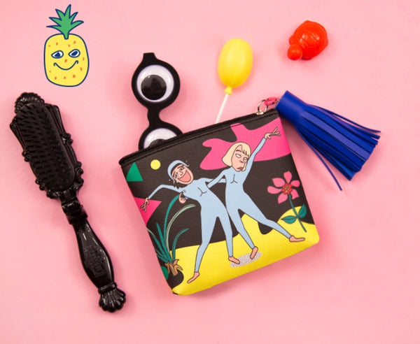 Tassel Charm Dancing Coin Pouch By Bentoy