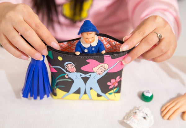 Tassel Charm [Dancing] Coin Pouch By Bentoy