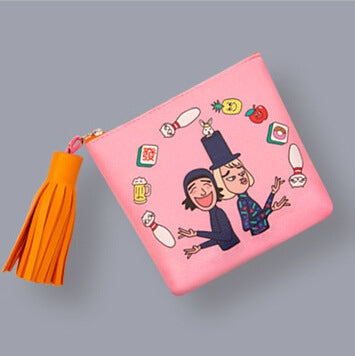 Tassel Charm Juggling Coin Pouch By Bentoy