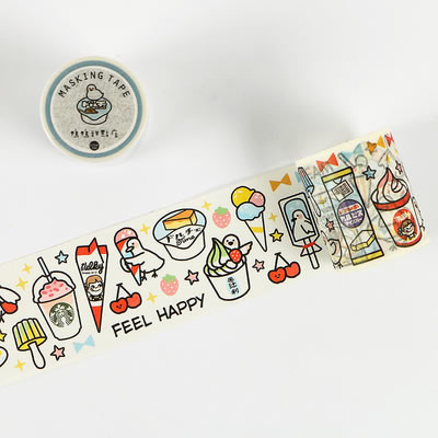 Tea Party [Duck Ice Cream Shop] Washi Tape