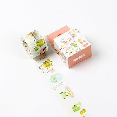 Tea Drinks Washi Tape