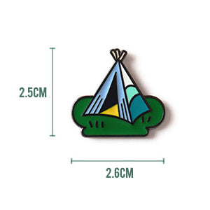 Life Is A Journey Tent Pin By U-Pick