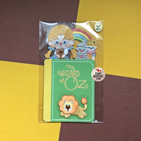 The Wizard Of Oz Embroidered Sticker & Iron-On Patch