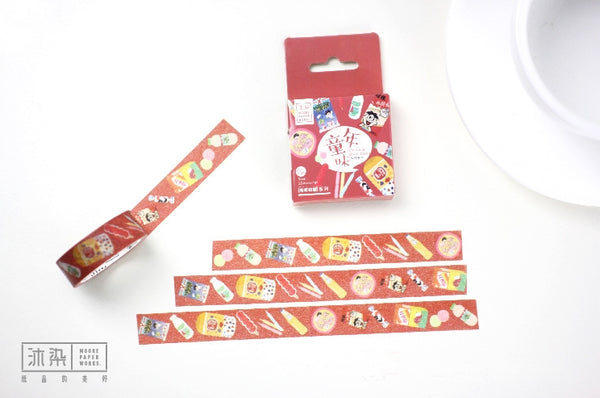 The Taste Of Childhood Washi Tape