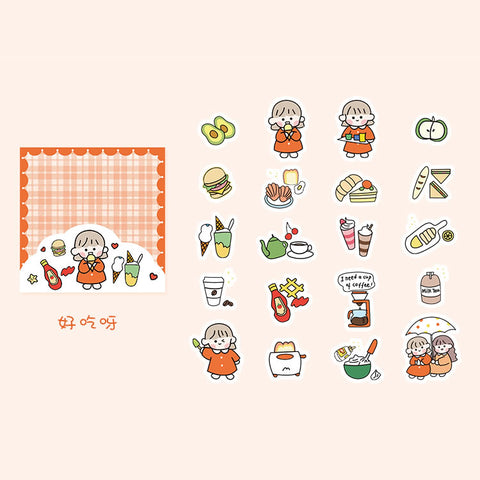 Theatre [Nice To Eat] Stickers Pack