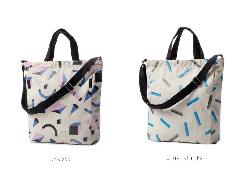 Geometry Tote Bag by Tinywoody - OUT OF PRODUCTION