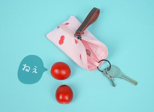Tomato Key Coin Pouch By 小野 (Xao Ye)