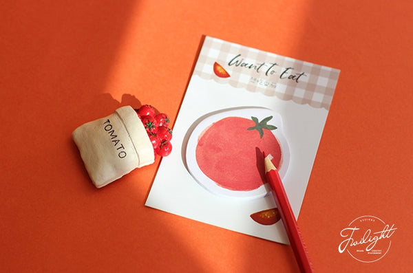 Want To Eat Tomato Sticky Notes