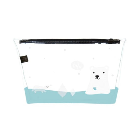 Transparent Polar Bear Travel Pouch By U-Pick