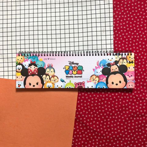Disney Tsum Tsum Weekly Journal Book