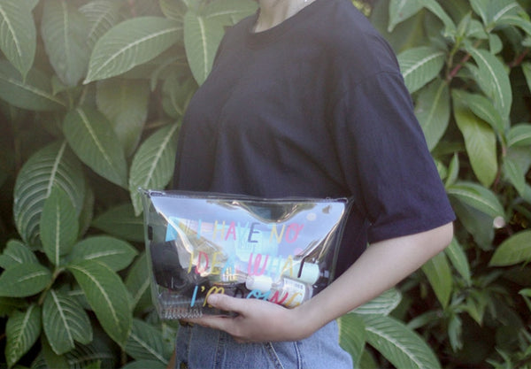 Transparent [No Idea] Travel Pouch By U-Pick