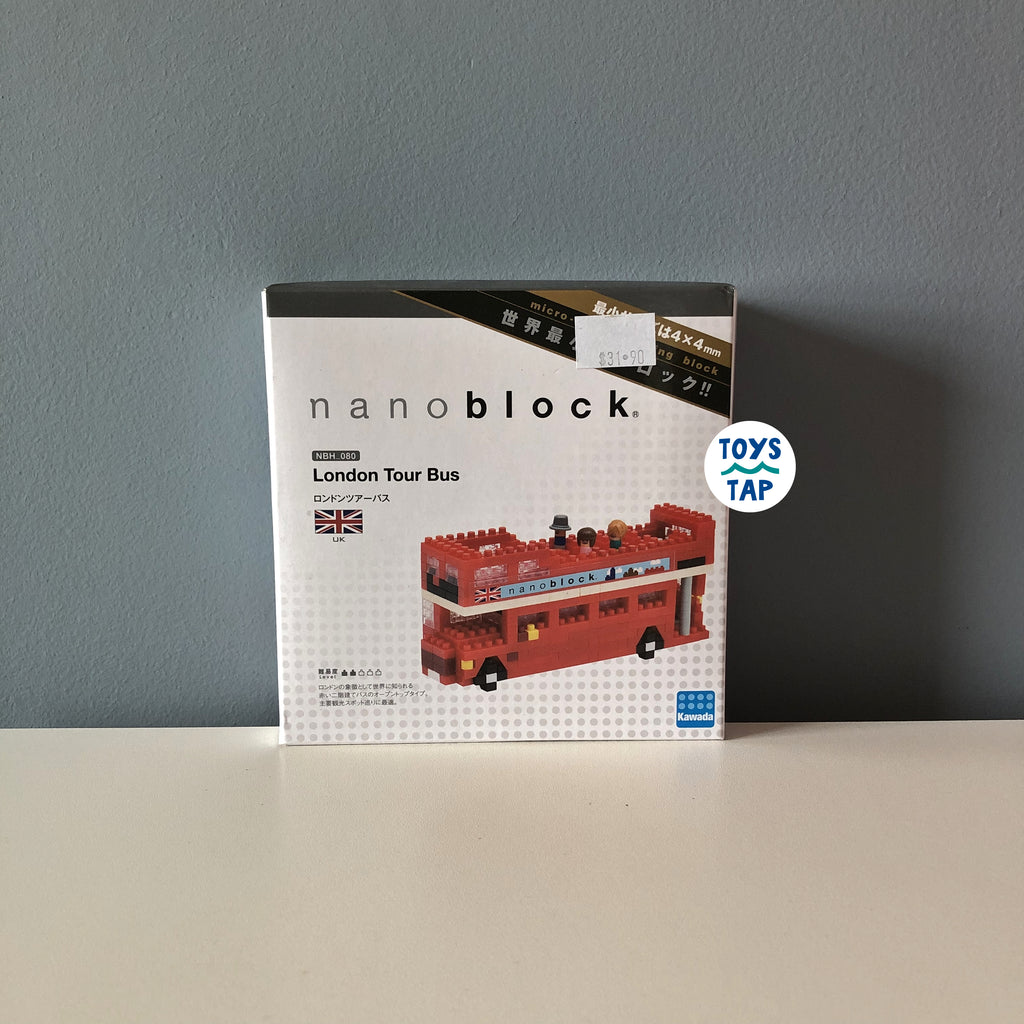 Nanoblock UK London Tour Bus