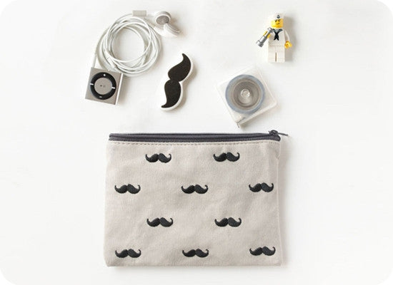 Moustache Pouch by U-Pick - OUT OF PRODUCTION