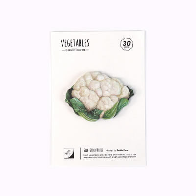 Vegetables Cauliflower Sticky Notes