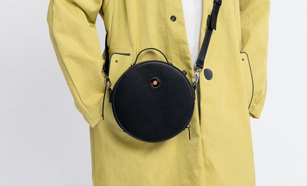 Classic Round Crossbody Bag By Kiitos Life