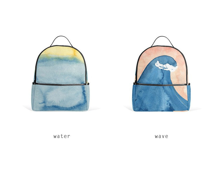 Watercolour Backpack By YIZI STORE