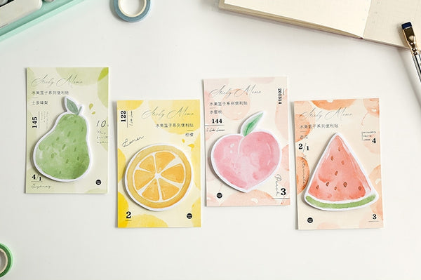 Watercolour [Watermelon] Fruit Sticky Notes