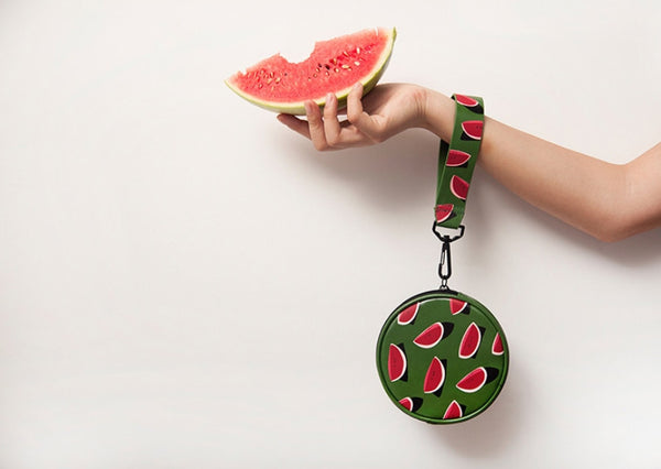 Watermelon Round Fruit Pouch by YIZI