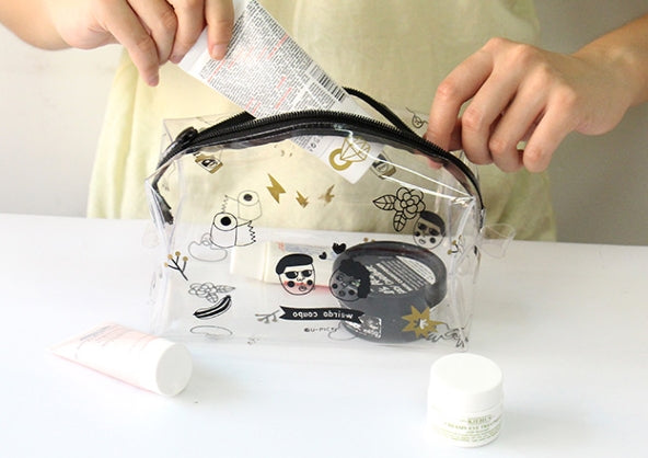 Transparent Box [Weirdo Coupo] Pouch By U-Pick