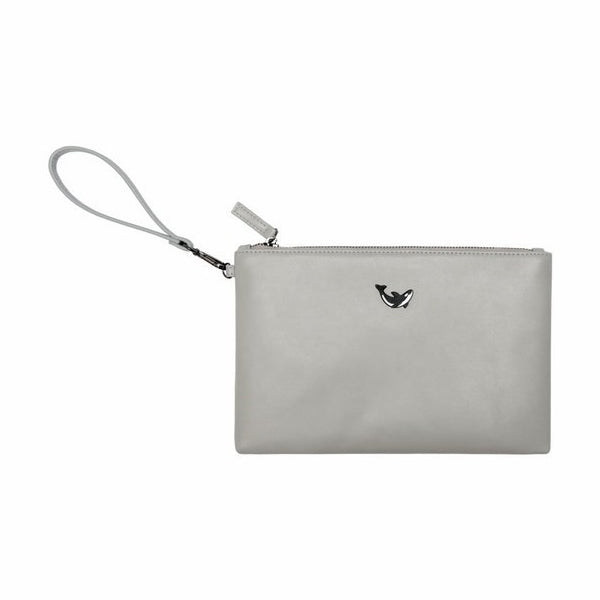 Moment [Whale] Flat Case Pouch By Kiitos Life