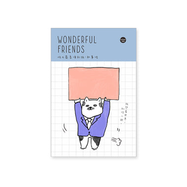 Wonderful Friends Peacemaker Sticky Notes