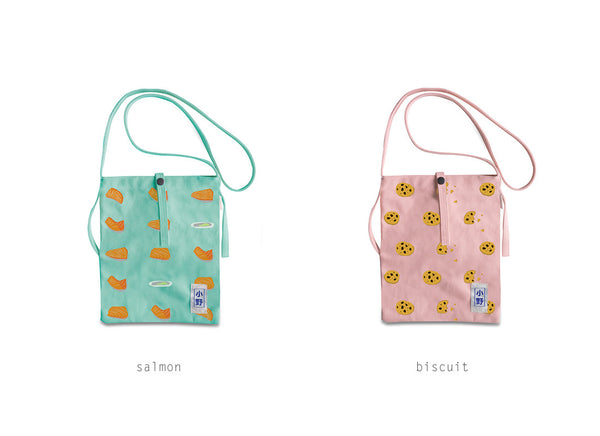 Fun Food Sling Bag by 小野 (Xao Ye)