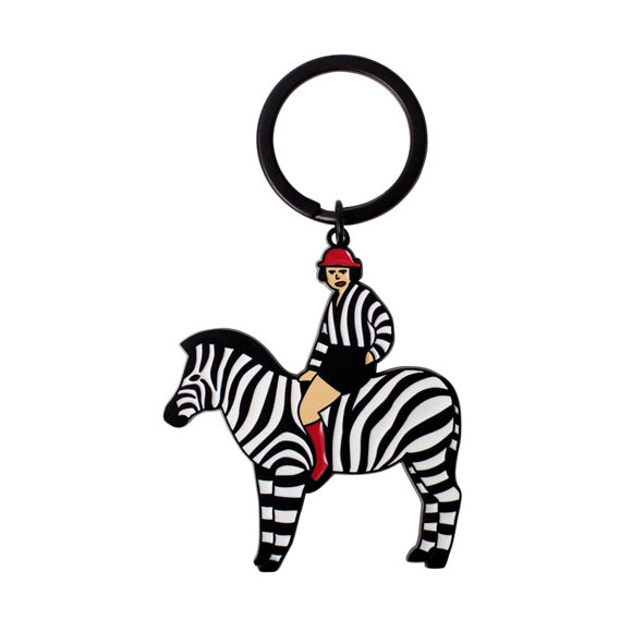 Zebra Key Chain By YIZI STORE