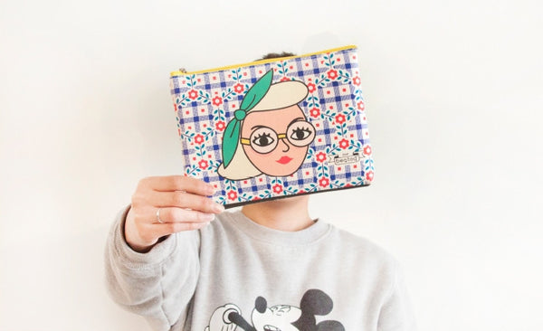 Lady Zip Pouch by Bentoy