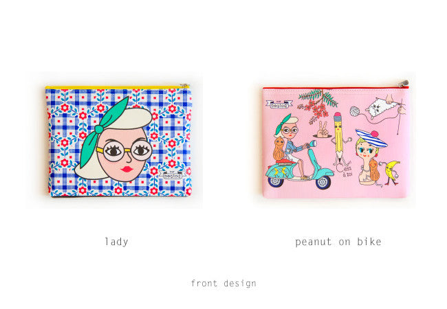 Zip Pouch by Bentoy