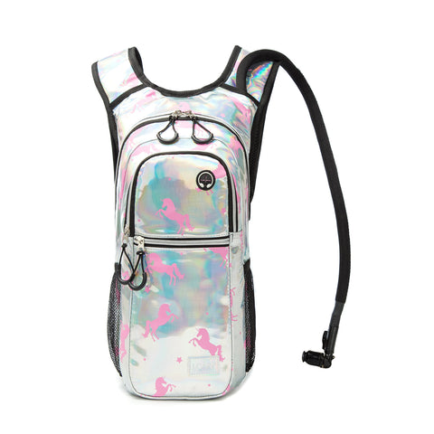 Rave Hydration Pack Backpack - 2L Water Bladder Included