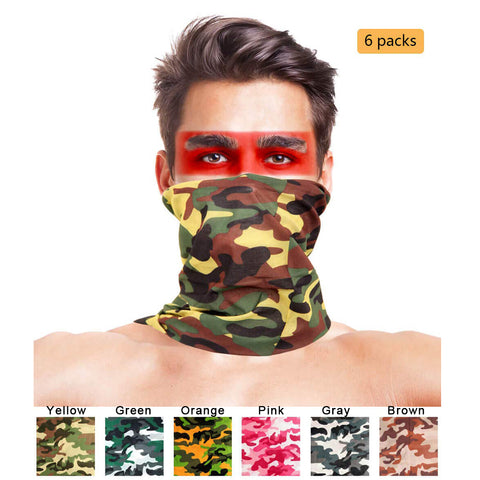Camo fishing headwear