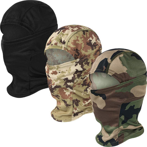 Camo Balaclava Full Face Cover 3 Pack